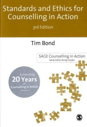 Standards and Ethics for Counselling in Action  3rd 2010 edition cover