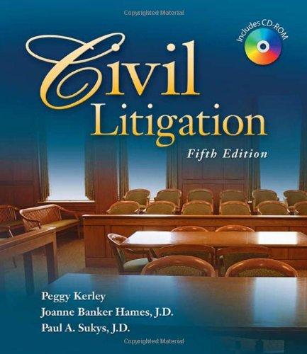 Civil Litigation 5e  5th 2009 edition cover