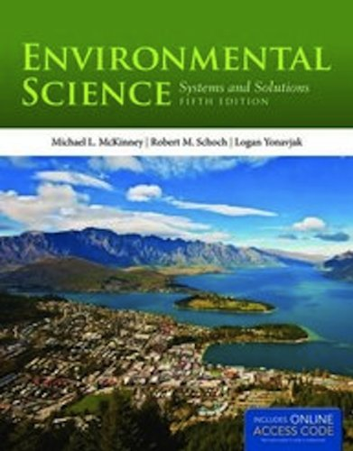 Environmental Science  5th 2013 edition cover