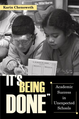 It's Being Done Academic Success in Unexpected Schools  2007 edition cover