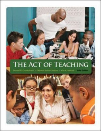 Act of Teaching  5th 2009 edition cover