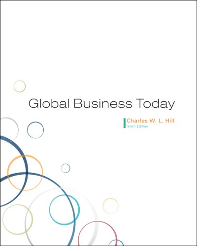 Global Business Today 6th 2009 edition cover