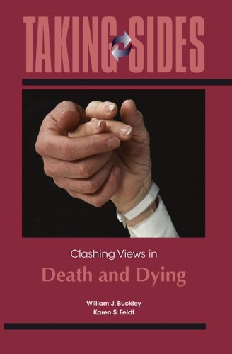 Taking Sides: Clashing Views in Death and Dying   2013 edition cover