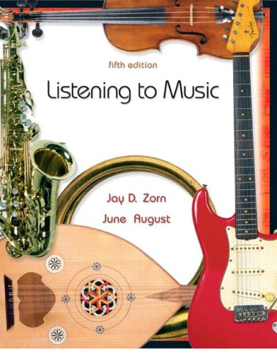 Listening to Music  5th 2007 (Revised) edition cover