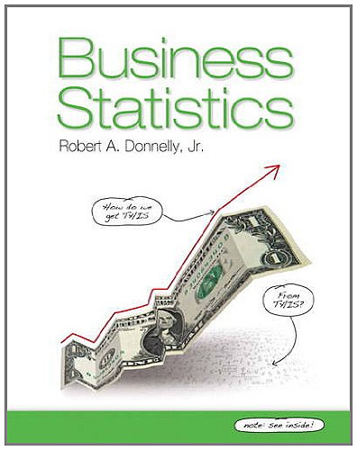 Business Statistics   2013 edition cover