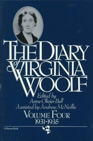 Diary of Virginia Woolf, 1931-1935   1983 (Reprint) edition cover