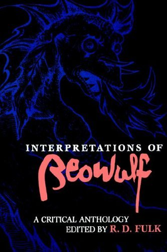 Interpretations of Beowulf A Critical Anthology  1991 9780253206398 Front Cover