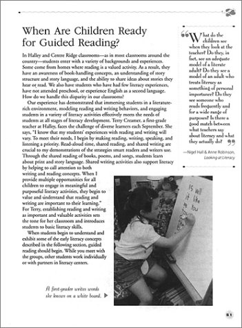 Guided Reading Making It Work - Two Teachers Share Their Insights, Strategies, and Lessons for Helping Every Child Become a Successful Reader  2000 edition cover