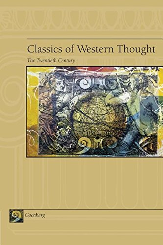 CLASSICS OF WEST.THOUGHT:20TH  N/A 9780534143398 Front Cover