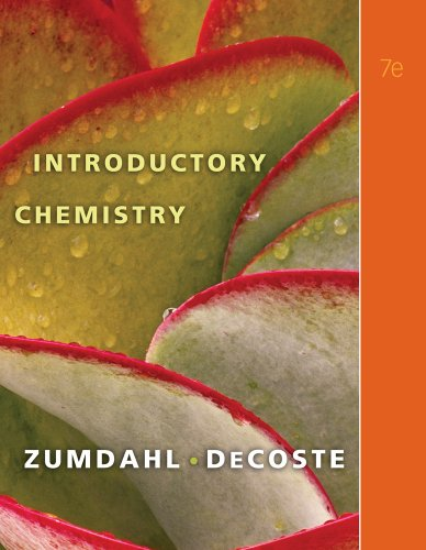 Introductory Chemistry  7th 2011 9780538736398 Front Cover