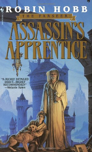Assassin's Apprentice The Farseer Trilogy Book 1  1995 9780553573398 Front Cover