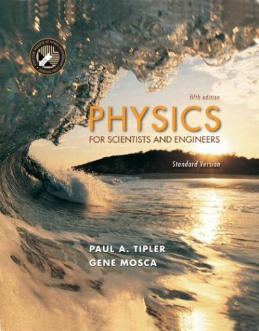 Physics for Scientists and Engineers  5th 2004 edition cover