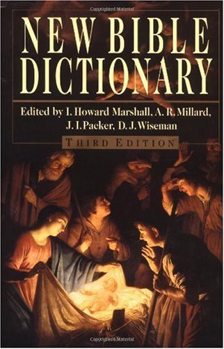 New Bible Dictionary  3rd 1996 (Revised) edition cover