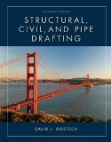 Structural, Civil and Pipe Drafting:   2013 edition cover
