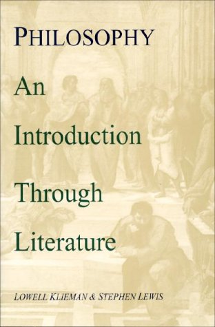Philosophy An Introduction Through Literature  1998 (Reprint) edition cover