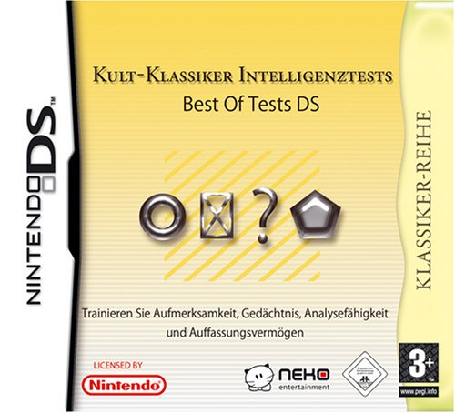 Kult-Klassiker Intelligenztests - Best of Tests Nintendo DS artwork