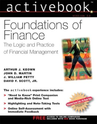Foundations of Finance  2nd 2004 (Activity Book) 9780130465399 Front Cover