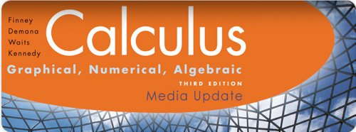 Calculus Graphical, Numerical, Algebraic 3rd 2010 9780133688399 Front Cover
