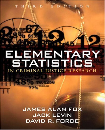 Elementary Statistics in Criminal Justice Research  3rd 2009 edition cover