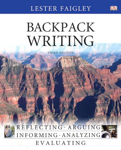 Backpack Writing  3rd 2012 edition cover