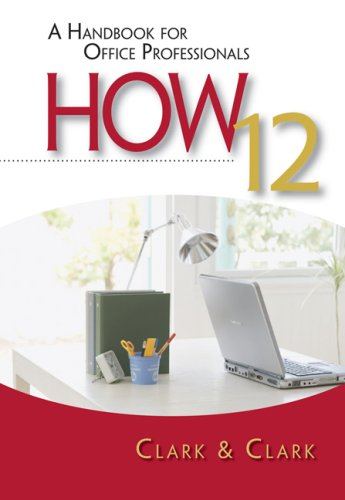 Handbook for Office Professionals  12th 2010 edition cover