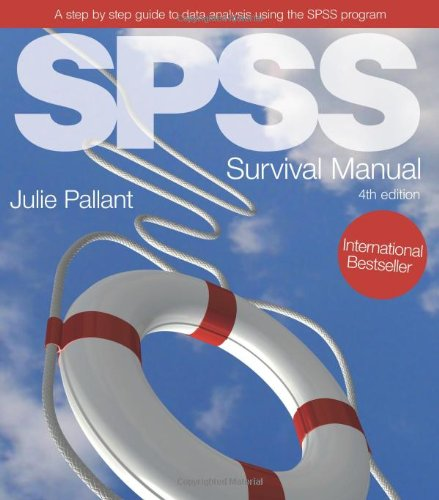 SPSS Survival Manual  4th 2010 edition cover