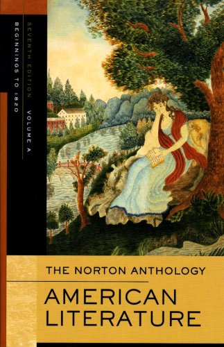 Norton Anthology of American Literature 7e V A  7th 2007 edition cover
