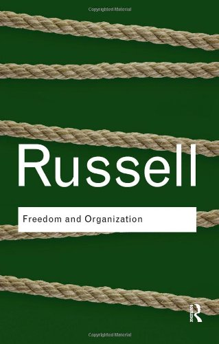 Freedom and Organization   2009 edition cover