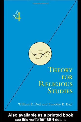Theory for Religious Studies   2005 edition cover