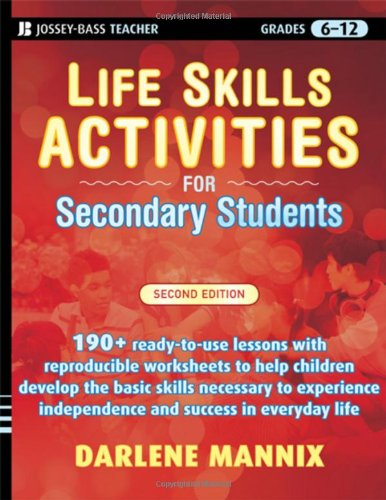 Life Skills Activities for Secondary Students with Special Needs  2nd 2009 edition cover