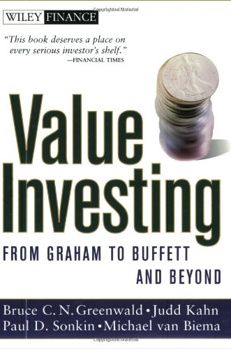 Value Investing From Graham to Buffett and Beyond  2001 edition cover