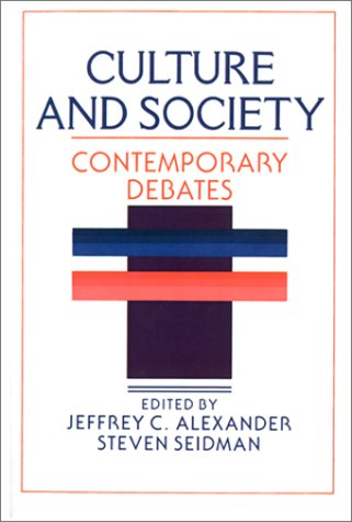 Culture and Society Contemporary Debates  1990 9780521359399 Front Cover