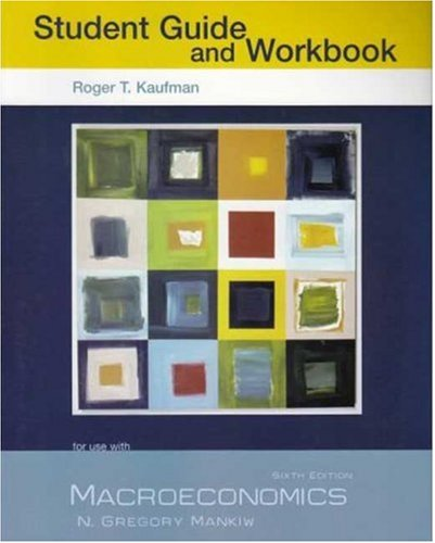 Macroeconomics  6th 2006 edition cover