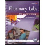 PHARMACY LABS F/TECHNICIANS    N/A edition cover