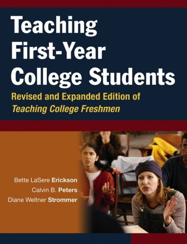 Teaching First-Year College Students   2006 (Revised) edition cover