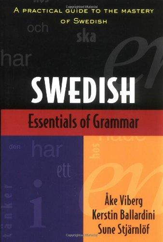 Essentials of Swedish Grammar   1991 edition cover