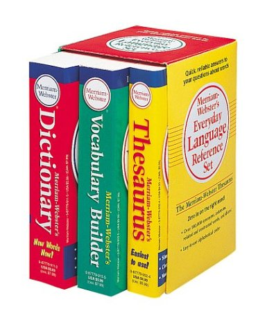 Merriam-Webster's Everyday Language Reference Set   2004 edition cover