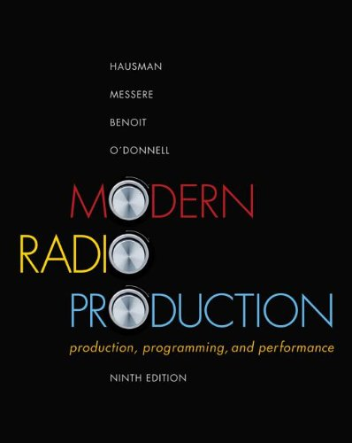 Modern Radio Production Production Programming and Performance 9th 2013 edition cover