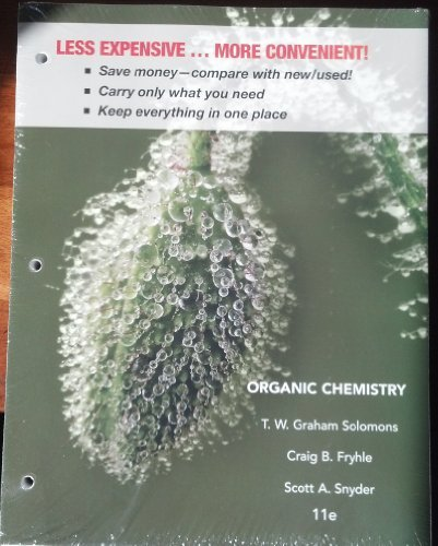 Organic Chemistry  11th 2014 edition cover