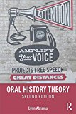 Oral History Theory  2nd 2016 (Revised) 9781138905399 Front Cover