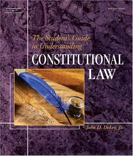Student's Guide to Understanding Constitutional Law   2006 9781401852399 Front Cover