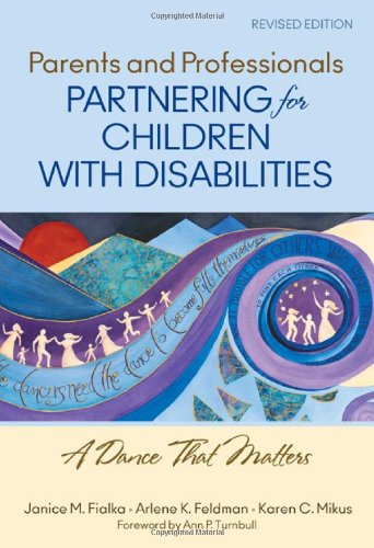 Parents and Professionals Partnering for Children with Disabilities A Dance That Matters  2012 edition cover