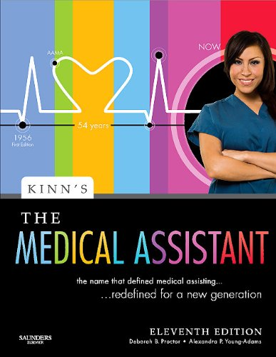 Kinn's the Medical Assistant An Applied Learning Approach 11th 2010 edition cover