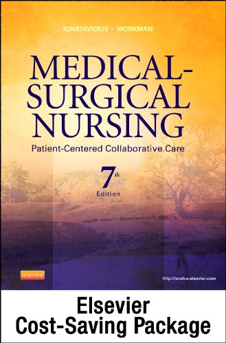 Medical-Surgical Nursing - Single-Volume Text and Clinical Decision-Making Study Guide Revised Reprint Package Patient-Centered Collaborative Care 7th edition cover