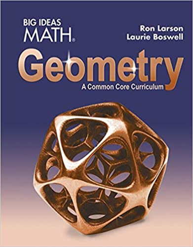 Larson Big Ideas Geometry 2015  Student Manual, Study Guide, etc. 9781608408399 Front Cover
