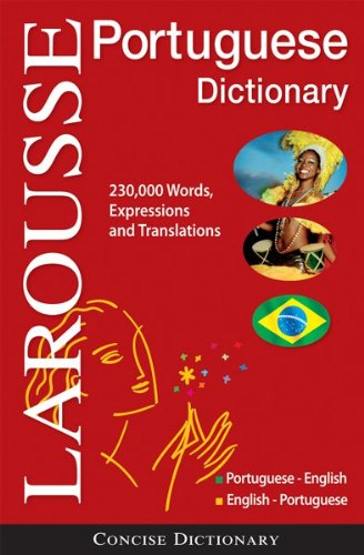 Larousse Concise Portuguese-English/English-Portuguese Dictionary   2010 edition cover