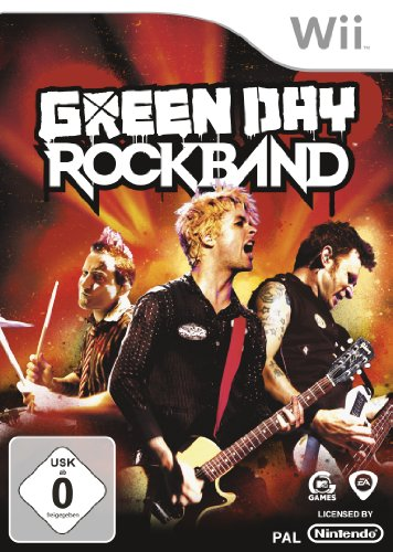 Green Day: Rock Band Nintendo Wii artwork