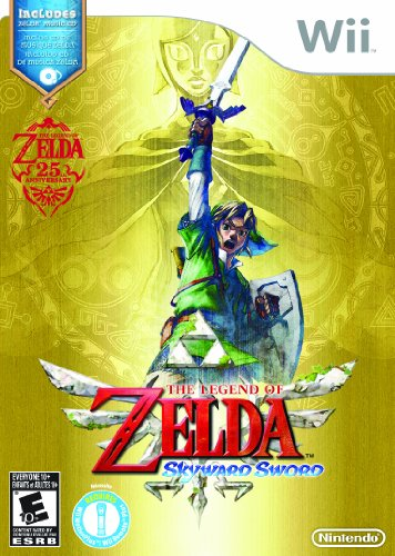 The Legend of Zelda: Skyward Sword with Music CD Nintendo Wii artwork