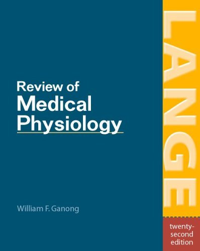 Review of Medical Physiology  22nd 2005 (Revised) 9780071440400 Front Cover
