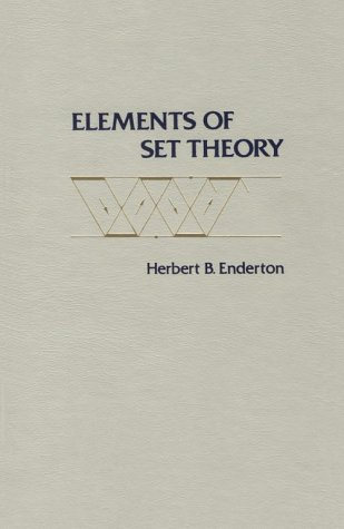 Elements of Set Theory   1977 edition cover